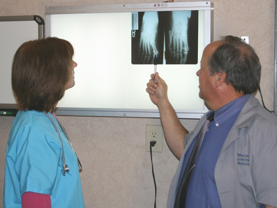 Macon Occupational Medicine Xray