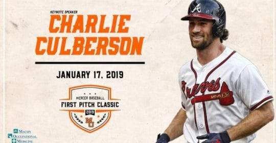 Sponsor of the Mercer Baseball First Pitch Classic