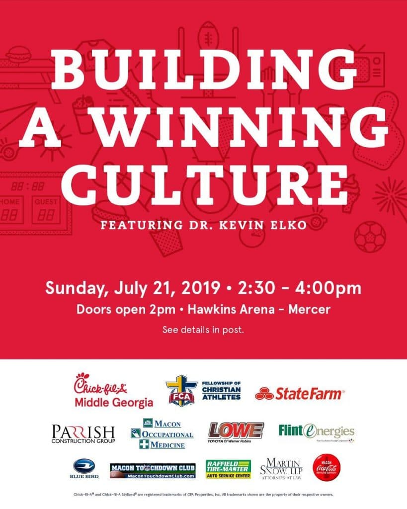 Building A Winning Culture Event