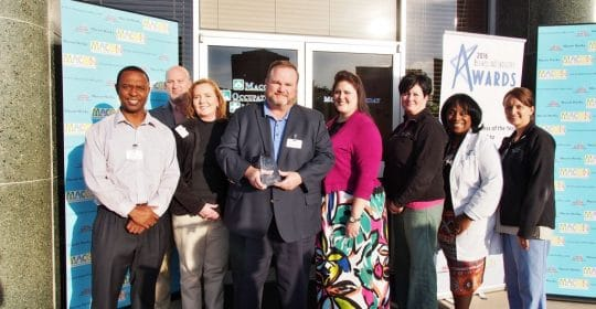 M.O.M. Receives Small Business of the Year Award