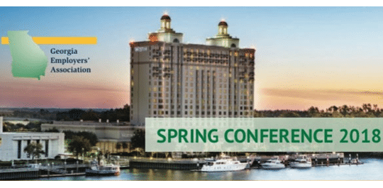 Georgia Employers' Association Spring Conference 2018
