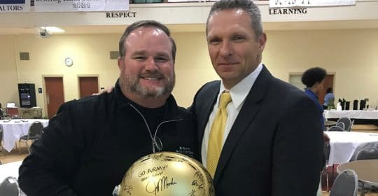 Army's Coach Jeff Monken Speaks at Macon Touchdown Club
