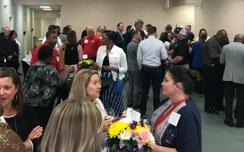 MOM Host Macon-Bibb Chamber of Commerce Business After Hours Event